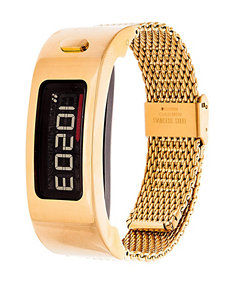 Garmin Vivofit 2 Gold-Tone Mesh Band Digital Watch