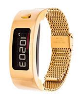 Garmin Vivofit 2 Gold-Tone Mesh Band Digital Watch