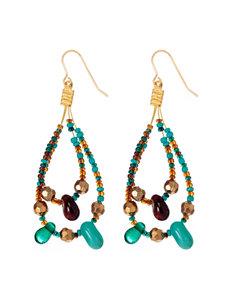 Hannah Blue Earrings Fashion Jewelry