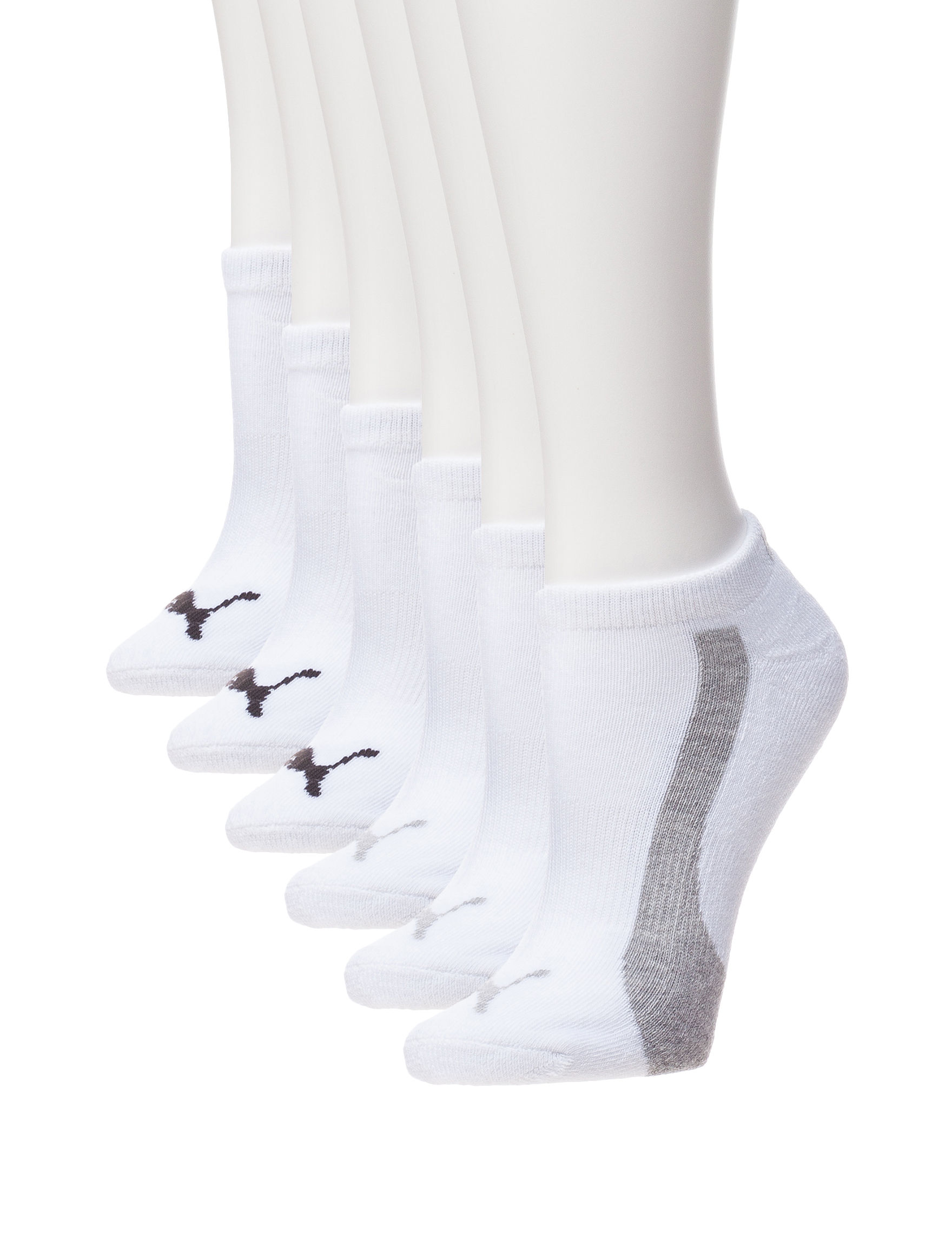 Puma White Socks