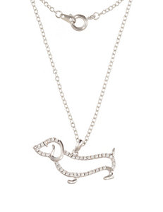 Robert Enterprises White Necklaces & Pendants Fashion Jewelry