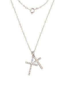 Robert Enterprises White Necklaces & Pendants Fashion Jewelry