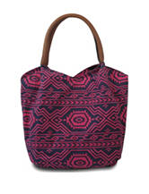 Bueno Aztec Print Canvas Tote Bag