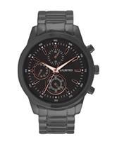 Unlisted Gunmental Men's Bracelet Watch