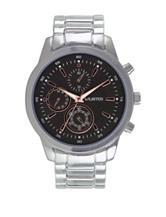 Unlisted Silver-Tone Men's Bracelet Watch