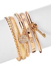 G by Guess 5-pc. Gold-Tone Tassel Bracelet Set