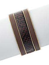 Signature Studio Brown Boho Bracelet