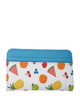 Buxton Summer Fruit Card Case