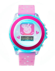 Peppa Pig Flashing Lights Digital Watch