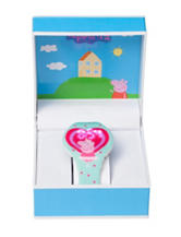 Nickelodeon Peppa Pig Heart LED Watch