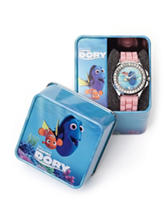 Disney Finding Dory Glitter Bezel Watch