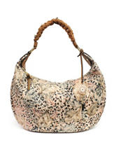 Jessica Simpson Joyce Cheetah Print Hobo Bag