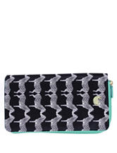 Buxton Zebra Travel Wallet