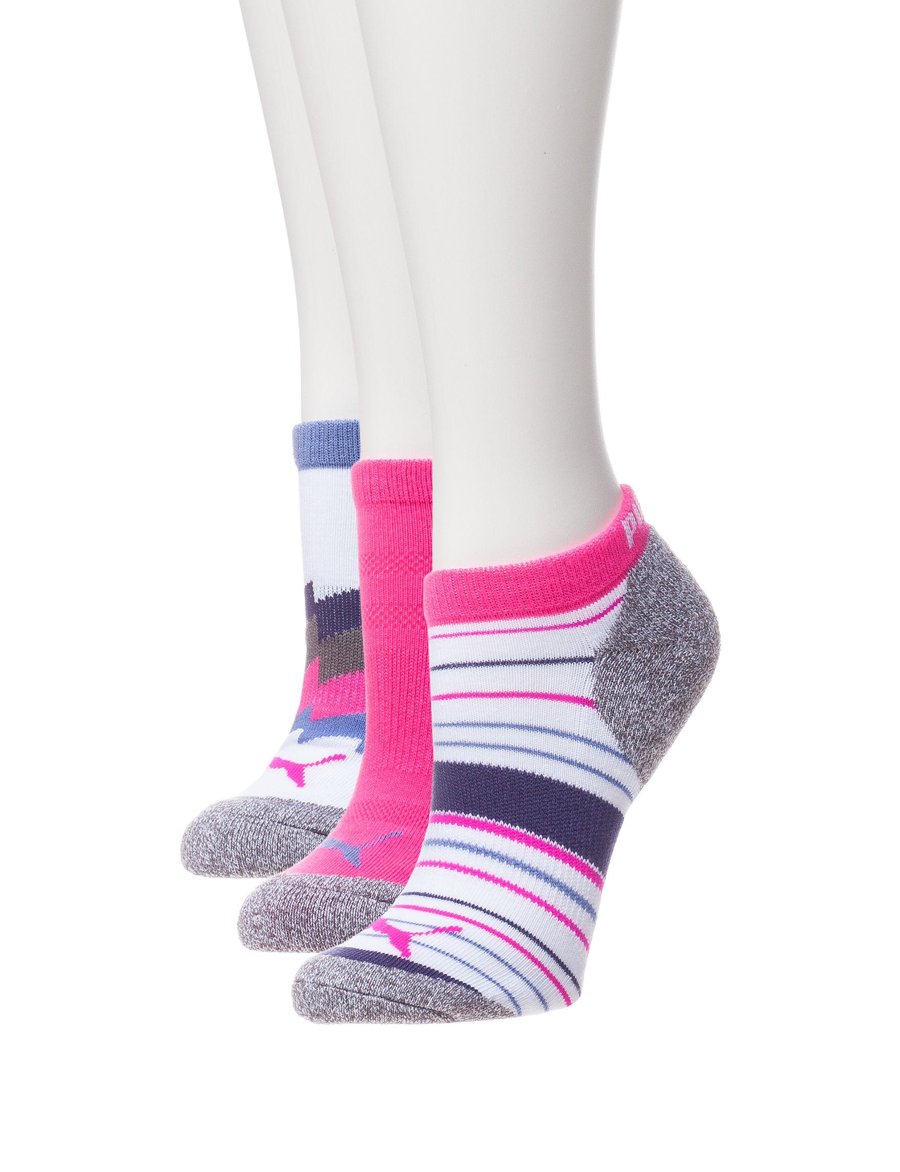 Puma Pink Socks
