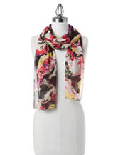 Collection 18 Radiant Bloom Infinity Loop Scarf