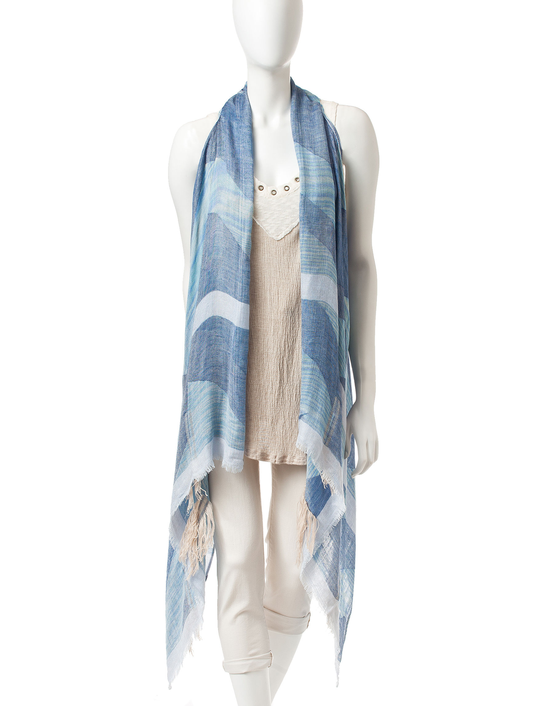 Accessory Street Blue Scarves & Wraps