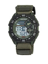 Armitron Multifunction Fast Strap Green Digital Watch