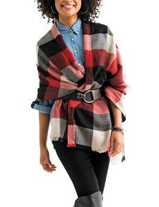 V. Fraas Red Scarves & Wraps