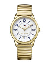 Tommy Hilfiger Table Sport Gold-Tone Bracelet Watch
