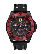Scuderia Ferrari XX Kers Black Silicone Strap Watch