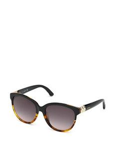 Swarovski Round Ombre Tortoiseshell Sunglasses