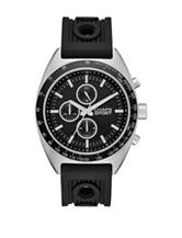 Chaps Rockton Black Dial Silicone Sport Watch