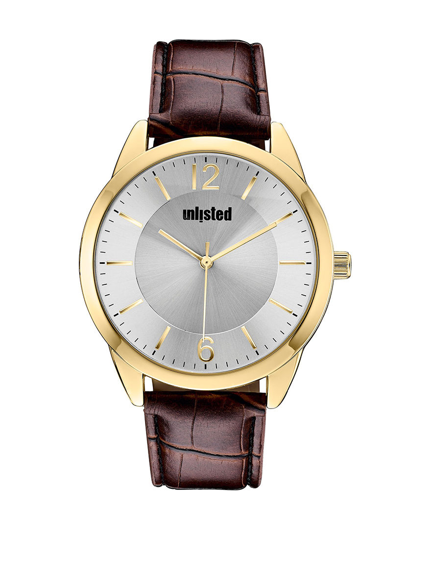 Unlisted Brown Fashion Watches