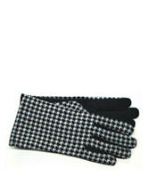 GII Houndstooth Touchscreen Gloves