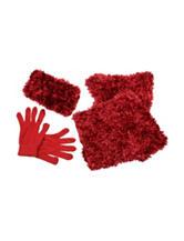 Cejon 3-pc. Poodle Knit Scarf Set