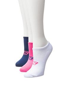 Skechers Navy Socks