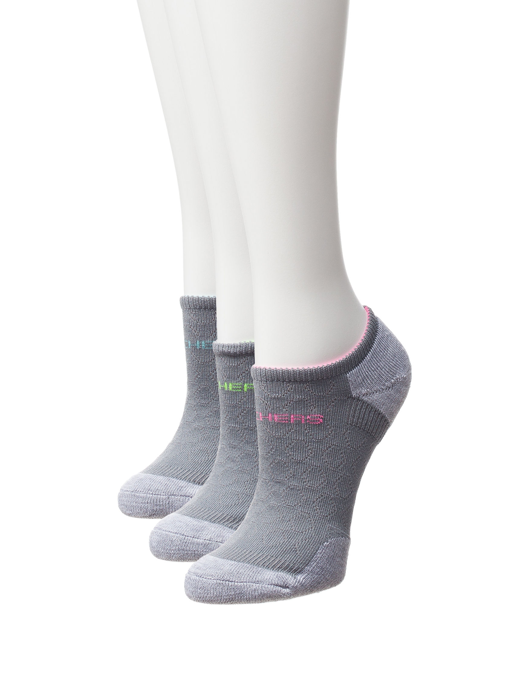 Skechers Grey Socks