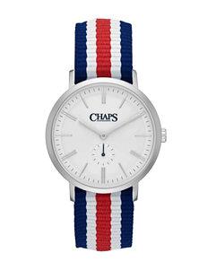 Chaps White / Silver