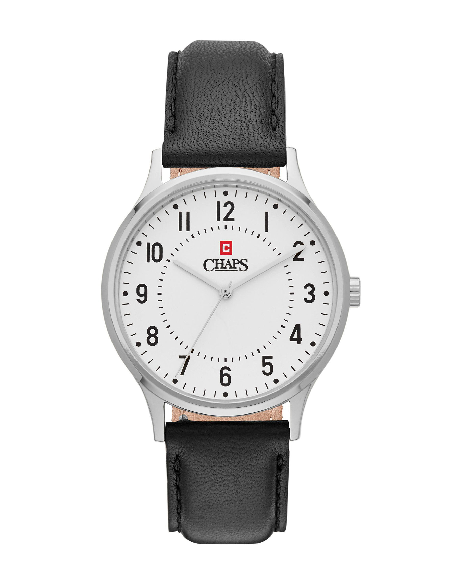 Chaps White / Silver Fashion Watches