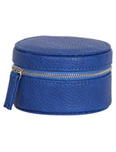 Mele & Co. Joy Faux Leather Royal Blue Travel Jewelry Case