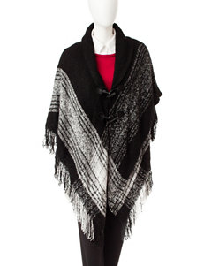 Accessory Street Black Scarves & Wraps