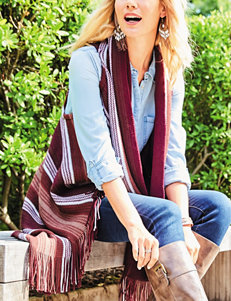 Accessory Street Wine Scarves & Wraps