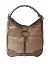 Bueno 2-Tone Shopper Hobo Bag