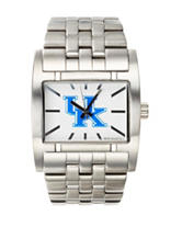 University of Kentucky Rockwell Apostle Silver-Tone Link Watch
