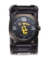 University of Southern California Rockwell Assassin Black Leather Strap Watch
