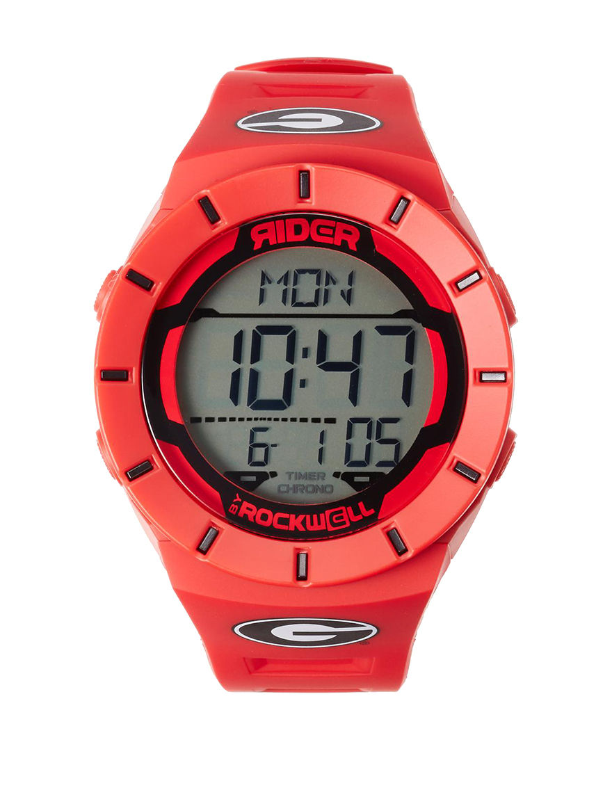 University of RO Red Fashion Watches Sport Watches Accessories