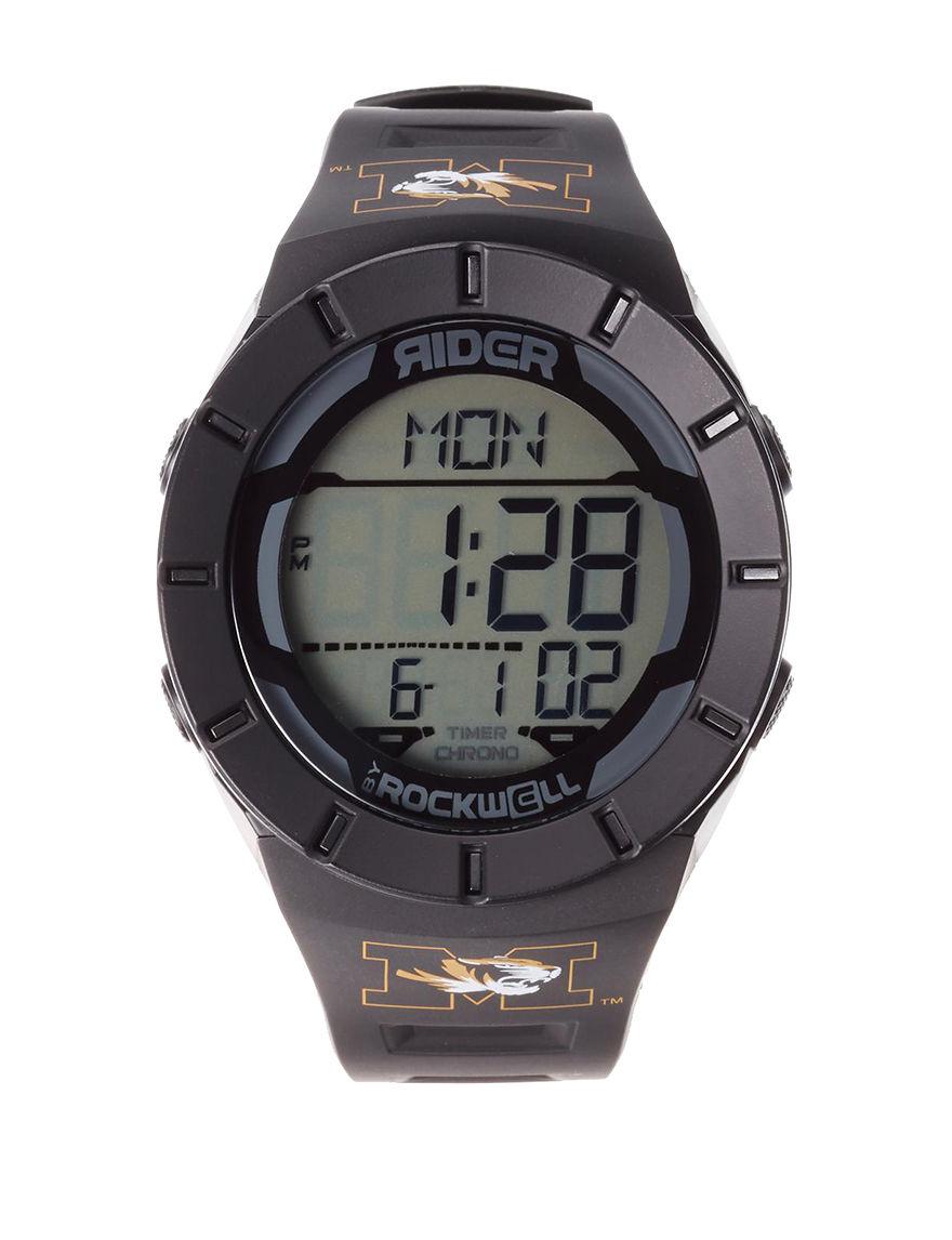 University of RO Black Sport Watches Accessories