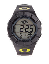 Oregon Ducks Rockwell Coliseum Black Strap Watch