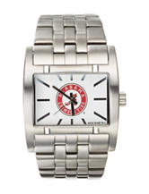 University of Alabama Silver-Tone Link Watch