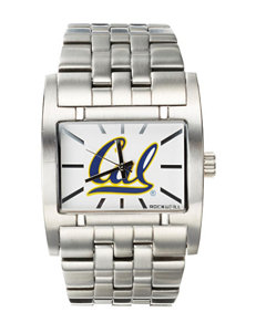 California Golden Bears Silver-Tone Link Watch