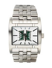 University of Hawaii Silver-Tone Link Watch