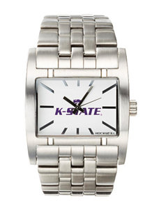 Kansas State University Silver-Tone Link Watch
