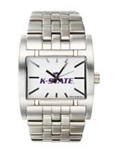 Kansas State University Silver-Tone Link Watch