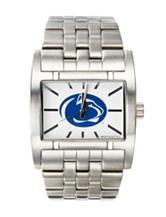 Pennsylvania State University Silver-Tone Link Watch