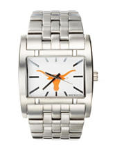 University of Texas Silver-Tone Link Watch
