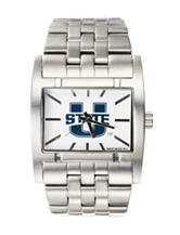 Utah State Aggies Rockwell Apostle Silver-Tone Link Watch